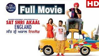 Sat Sri Akal England ( Full Hd Movie ) Ammy virk | Monica Gill |Full Punjabi Movie|Latest Movie 2018