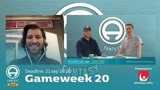 FanTV Allsvenskan Fantasy: Gameweek 20