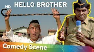 Hello Brother - Jhonny Lever - Best Comedy Scene - (जॉनी लीवर हिट कॉमेडी)- Shemaroo Bollywood Comedy