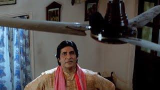 Amitabh is Killing the Rat in the House Comedy Scene | Kohram Movie