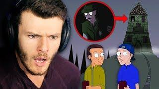 the village WASN'T abandoned... (Scary Field Trip True Story Animation REACTION)