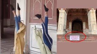 Delhi: Video of girls dancing inside Jama Masjid goes viral, tourists entry banned