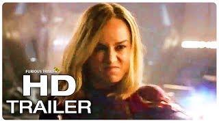 CAPTAIN MARVEL Trailer #6 New Captain's Powers (NEW 2019) Superhero Movie HD