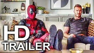 DEADPOOL 2 Deadpool Meets David Beckham Trailer NEW (2018) Superhero Movie HD