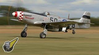 Howling P-51 Mustang - Low Flyby Over The Green Fields Of England
