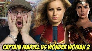 Captain Marvel vs Wonder Woman 2  - The Truth about the Delay