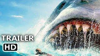 "THE MEG ""Megalodon Attacks Swimmers"" Trailer (NEW 2018) Jason Statham, Shark Movie HD"