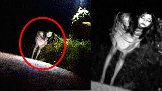 Ghost In Cemetery   Real Scary Footage Of Ghost Near A Cemetery Caught On Camera