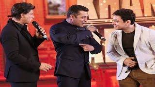 Shah Rukh KHAN, Salman KHAN & Aamir KHAN Together Historical Moment