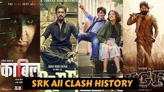 Shah Rukh Khan King of Box Office Clash | Movies That Clashed With SRK with Box Office