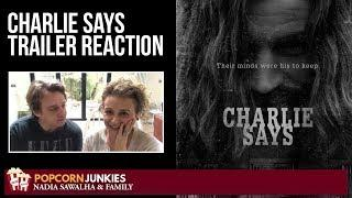 Charlie Says OFFICIAL TRAILER - Nadia Sawalha & The Popcorn Junkies Movie Reaction