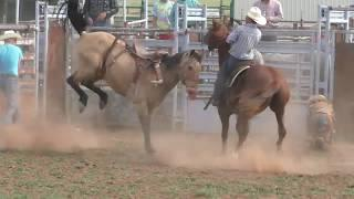 Bronc Riding Practice - OH Bucking Stock & Productions 2019-04-28