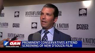 Prominent Conservatives Attend Screening of New D'Souza Film