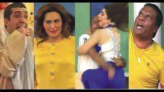 Best and Full of Comedy Scene Of Top Pakistani Stage Dramas ! Zafri Khan, Amanat Chan,  Akram Udas