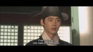 Lee Jong Suk in a sageuk (사극/historical) movie: long, straight hair!!!