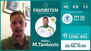 FanTV Allsvenskan Fantasy Deadline: Gameweek 13