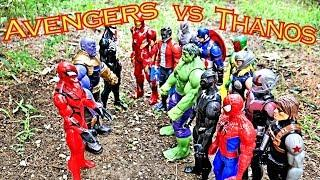 Thanos vs Avengers Full Fight + Spider-Man, Venom, Carnage, Hulk, Iron Man, Ant-Man!