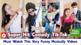 Must Watch This Very Funny Musically Videos | New Tik Tok Comedy Videos Compilation | Top 5 Presents