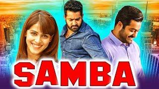 Samba Telugu Hindi Dubbed Full Movie | Jr. NTR, Bhumika Chawla, Genelia D'Souza, Prakash Raj