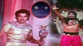 Magical War Between Yuvaraja And Bethaludu | Telugu Fantasy Movie Scenes | Silver Screen Movies