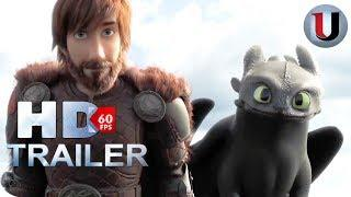 HOW TO TRAIN YOUR DRAGON 3 - Official Trailer 1 - 2019 Movie (HD)