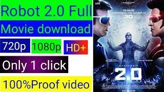 How to download robot 2.0 full movie HD in hindi